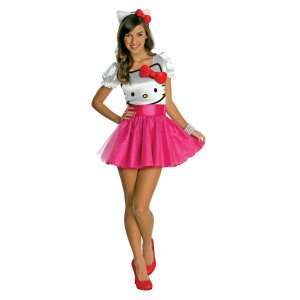 Hello Kitty   Hello Kitty Tutu Dress Teen Costume, 801425