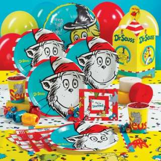 16208 Results In Halloween Costumes Dr. Seuss Deluxe Party Kit