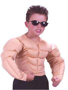 Muscle Shirt Child Costume   Accessories & Makeup
