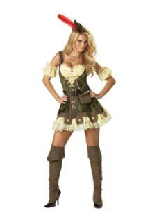 Elite Racy Robin Hood Adult Sexy Fairytale Costume at Wholesale Prices