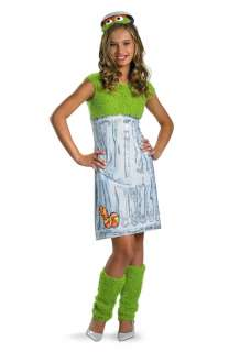 Sesame Street Oscar the Grouch Tween Costume for Halloween   Pure