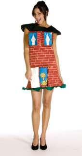 Brick House Costume (Adult Costume)