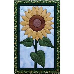 Sunflower Quilt Magic No Sew Wall Hanging Kit