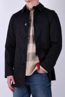 Black Classic Rain Mac by Burberry Brit Brit   Black   Buy Coats