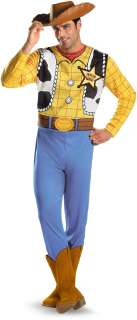 Toy Story   Woody Classic Plus Adult Costume   Includes Jumpsuit and