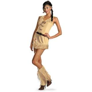 The Lone Ranger   Sexy Tonto Adult Costume   Includes Dress, belt
