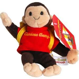 Curious George Monkey Bean Bag Plush Toy