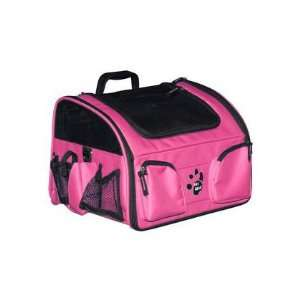 Pet Bike Basket Carrier Car Seat 3 in 1 Pink 12 lbs. Pet