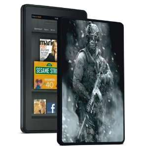 Call Of Duty Soldier   Kindle Fire Hard Shell Snap On