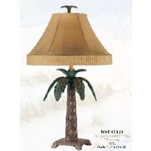 Antique Carved Palm Tree Lamp Home Improvement