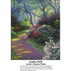 Azalea Path, Counted Cross Stitch Patterns PDF