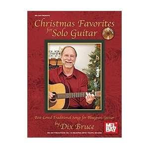 Christmas Favorites for Solo Guitar Book/CD Set Musical