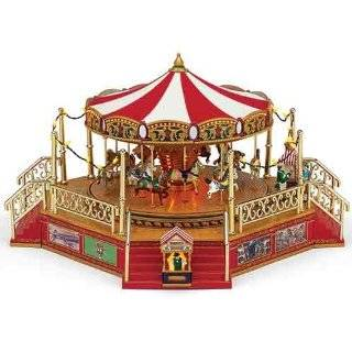 Mr. Christmas Gold Label Royal 75th Anniversary Music Box, Carousel