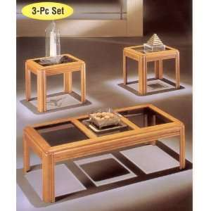 Modern#2 /3pc  Pack Coffee/End Table Set