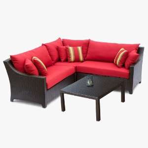 Sectional with Coffee Table Set Patio Furniture Patio, Lawn & Garden