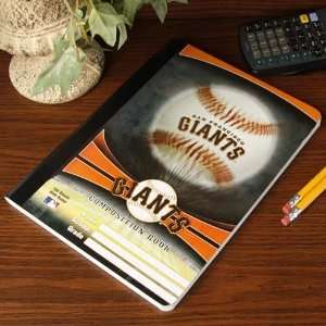 MLB San Francisco Giants Composition Notebook