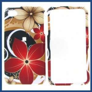 Apple iPhone 4/CDMA/4S Summer Flower Protective Case