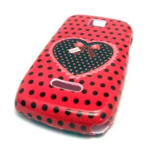 Heart Polka Dot Design Phone Cover Boost Cell Phones & Accessories