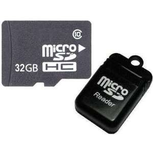 Card Class 10 with SD Adapter + R11 Micro USB Flash Card Reader