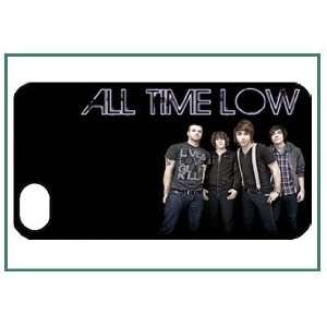All Time Low iPhone 4s iPhone4s Black Designer Hard Case