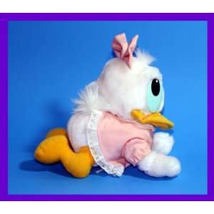 8 1984 Vintage Baby Daisy Duck Crawl Position Plush: Toys