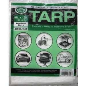Plastic Drop Cloth 9 X 12. Case Pack 48   425126 Patio
