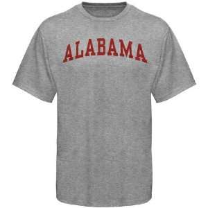 Alabama Crimson Tide Youth Ash Arched T shirt Sports
