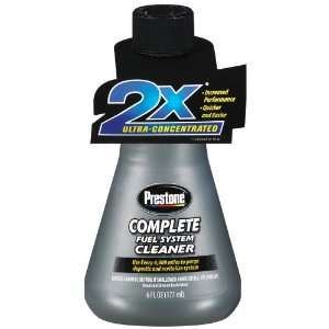 Prestone AS790 Complete Fuel System Cleaner   6 oz. Automotive