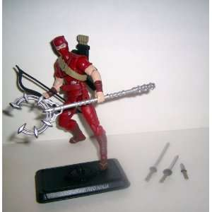 GI JOE 25th anniversary classics RED NINJA toys r us