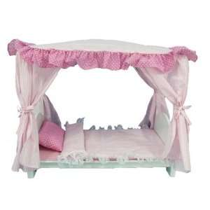 Royal Canopy Bed for American Girl Dolls Toys & Games