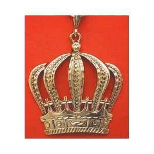 Antique Gold Crown Necklace Toys & Games