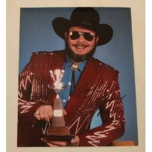 Hank Williams Jr. Country Star Hand Signed In Person Autographed