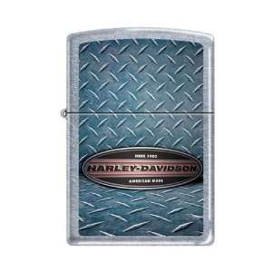 Zippo Harley Davidson Motorcycles Logo Street Chrome Lighter