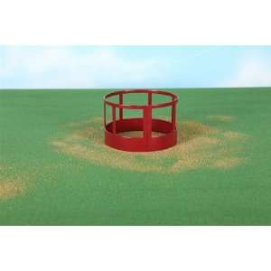 Buster Toys Red Round Bale Hay Feeder  Toys & Games