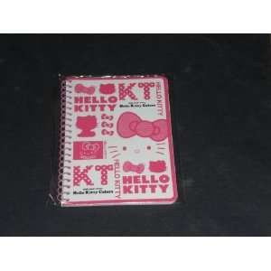 Pink Hello Kitty 35th Anniversary Mini Notebook 0881780890162