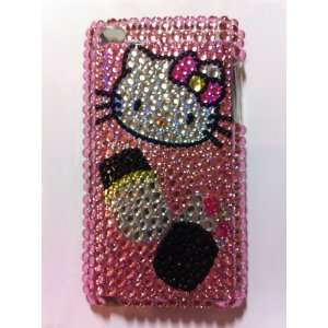 Pink Hello Kitty Crystal Diamond Bling Rhinestone Protector Hard Skin
