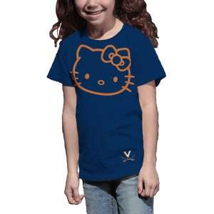 Cavaliers Hello Kitty Inverse Girls Crew Tee Shirt