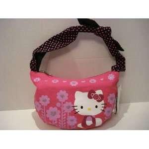 Hot Pink Hello Kitty Mini Hobo Shoulder Tote Bag