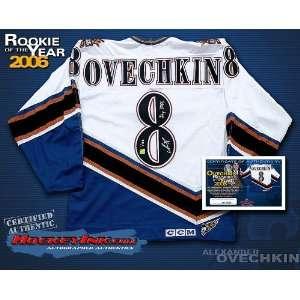 Alexander Ovechkin Uniform   Washington Capitals Rookie of