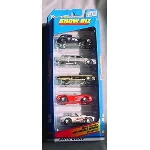 Hot Wheels Show Biz Gift Pack 5 Car Set Toys & Games