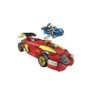 Mega Bloks Iron Man 2 Collection Mark VI Super Racer Showdown (91218)