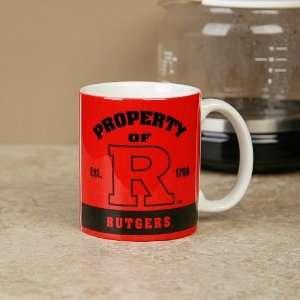 com Rutgers Scarlet Knights 11oz. Retro Coffee Mug Sports & Outdoors