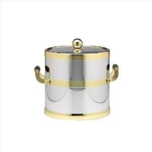 Kraftware The Americano Collection Shiny Chrome 3 Quart Ice Bucket