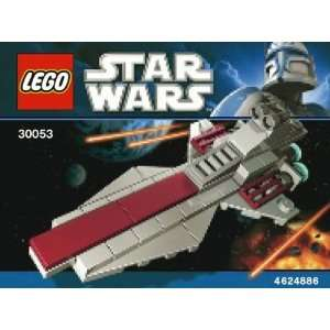 LEGO Star Wars Mini Building Set #30053 Republic Attack Cruiser Bagged