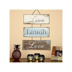 Live Love Laugh Metal Sign   World Market