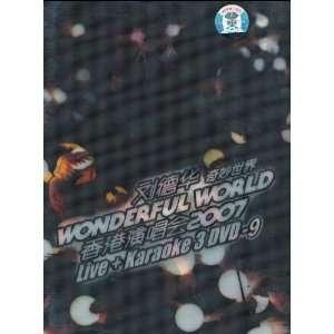 Wonderful World 2007 Concert (Live + Karaoke 3 DVDs) Movies & TV