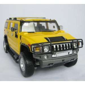 1:16 GM Hammer H2 RC Car/Radio Control Car Yellow: Toys & Games