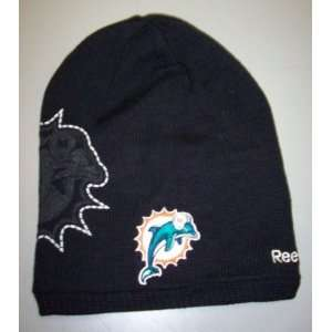 Miami Dolphins 2nd Season Knit Hat By Reebok   Youth (4  7