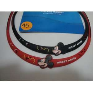 DISNEYS MICKEY MOUSE (BLACK) NECKLACE 17.7