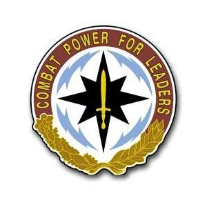 United States Army CECOM Command Unit Crest Patch Decal